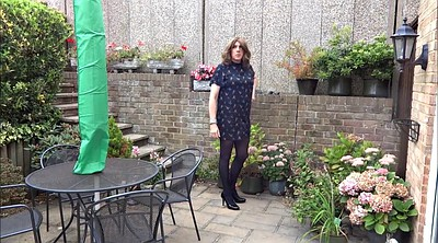 Crossdresser, Crossdress, Garden