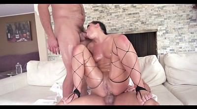 Double anal, Oil, Oil fuck