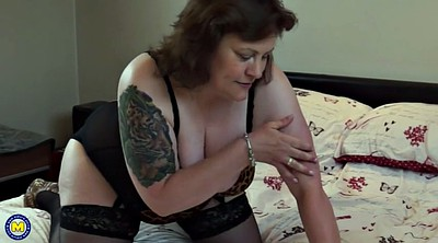 Bbw granny, Bbw mom, Mature fingering