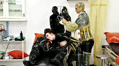 Latex bdsm, Rubber latex, Clinic, Catheter