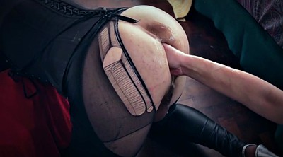 Latex, Double fisting, Lingerie, Extreme insertion