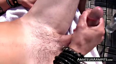 Hairy, Armpit, Sword, Hairy solo, Hairy masturbation