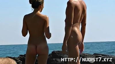 Beach, Nudist, Teen public, Teen beach