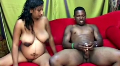 Pregnant, Ebony wet, Big pregnant