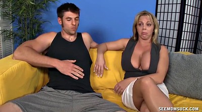 Tit fuck, Milf fuck young, Mature and young