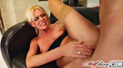 Milf ass, Blond anal, Fingering anal