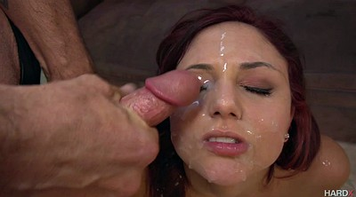Surprise, Ariana marie, Cum on face, Five, Surprise facial