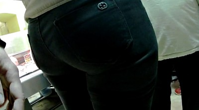 Hidden, Jeans, Big ass mature