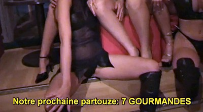 French, Training, Mature gangbang, A mature, French gangbang