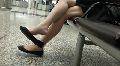 Asian foot, Candid, Asian foot fetish