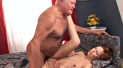 Old, Old man, Teen missionary, Man, Hairy granny