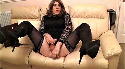Boot, Crossdresser, Thigh boots