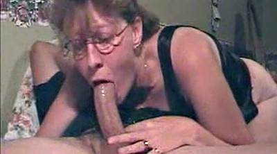 Glass, Glasses, Mature deepthroat