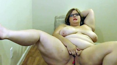 Bbw webcam, Bbw masturbation