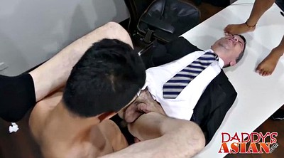 Asian office, Office sex