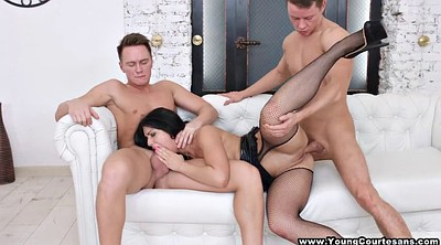 Teen anal, Two couples