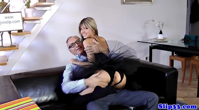 Oldman, Young and old, Amateur threesome, British amateur