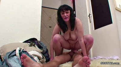 Street, First, Milf boy, Hairy milf, Old hairy, Teen first