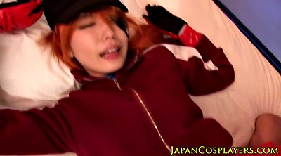 Japanese cosplay, Asian cosplay, Redhead creampie