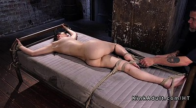Caning, Hogtied, Caned