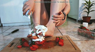 Whipping, Whip, Whipped cream, Whipped cream whip whip cream, Amateur feet