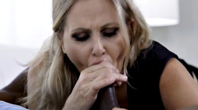 Julia ann, Interracial blowjob