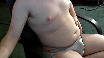 Amateur chubby, Jerking off