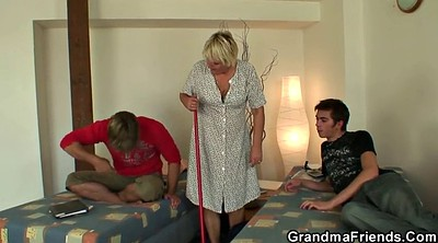 Old woman, Cleaning, Old granny, Wife threesome, Clean pussy, Big woman