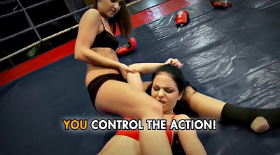 Bdsm, Gloves, Lesbian fight, Fighting, Fight, Cat