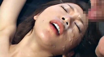 Japanese bukkake, Japanese cumshot, Japanese facial