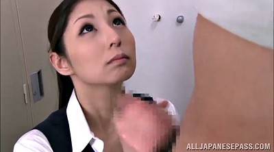 Locker, Asian handjob, Locker room, Hand