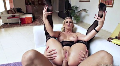 Cherie deville, Riding, Stocking anal, Deville