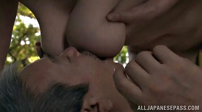 Asian mature, Pussy lick