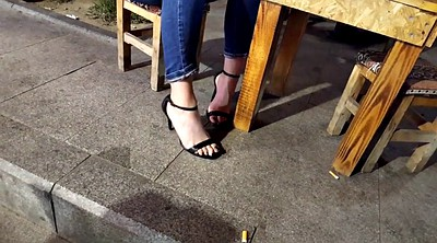 Heels, High-heels, Sexy, Hidden teen