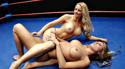 Fight, Wrestling, Tit fight, Sport, Topless, Fighting