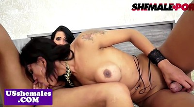 Bigtits, Tattoo, Trap, Traps, Trapped, Shemale lesbians