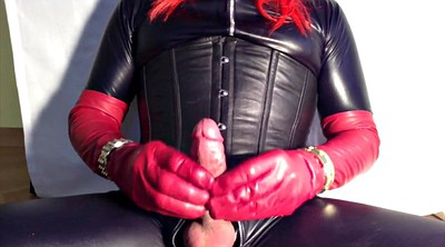 Latex, Leather, Glove, Gloves