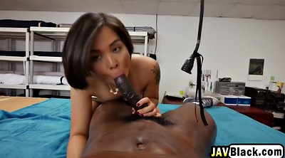 Asian black, Small, Asian interracial, Wet