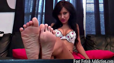 Pink, Toes, Feet femdom, Suck toes