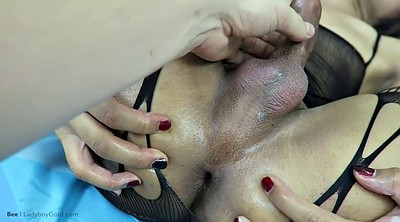 Hard anal, Flat chested