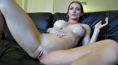 Big tits solo, Blonde, Big toy