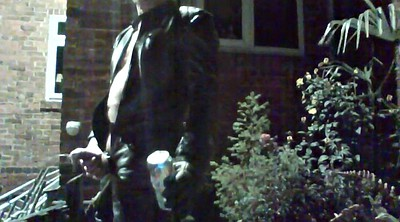 Blacked, Outdoor, Leather, Black leather
