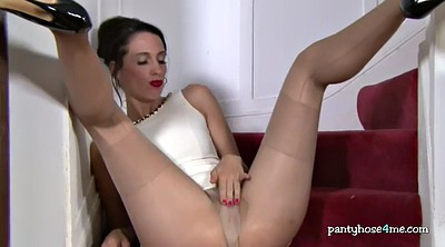 Pantyhose, Pussy spread, Pussy lips