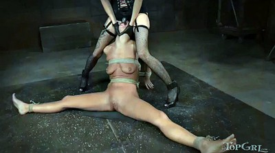 Outdoors bondage, Mistress t