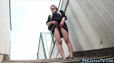Japanese pee, Japanese public, Outdoors