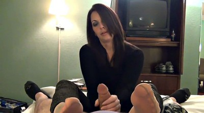 Footjob nylon, Nylons footjob, Nylon foot