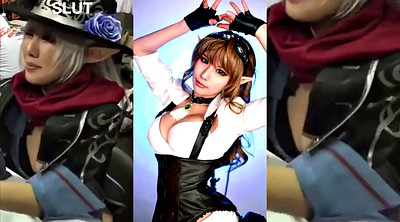 Cosplay, Jerk off, Jerk off challenge, Asian compilation, Tasha, Cosplay masturbation