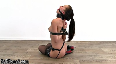 Leather, Bound, Gagging