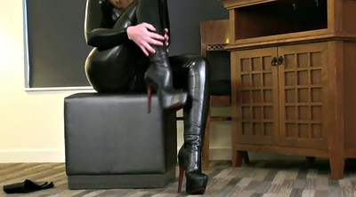 Boots, Catsuit, Gloves