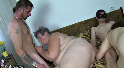 Granny masturbation, Teen dildo, Old fat granny